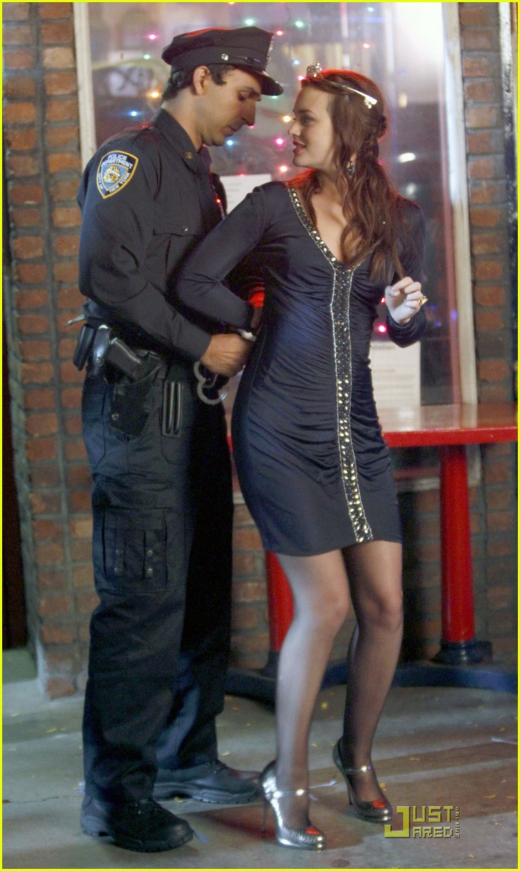 leighton meester cuffed  07